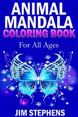 Animal Mandala Coloring Book
