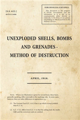 ss622 - Unexploded Shells, Bombs and Grenades