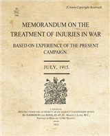 SS345_Memorandum-Treatment of Injuries in War