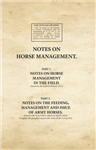 Notes on Horse Management in the Field (1917)