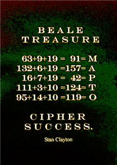 Beale Treasure Cipher Success