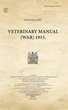 40WO2233_Veterinary Manual (War), 1915